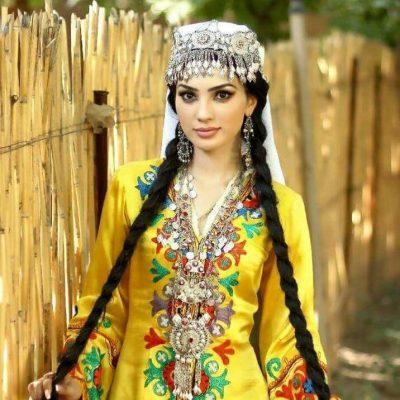 Самая красивая таджичка - таджикская модель нодира
