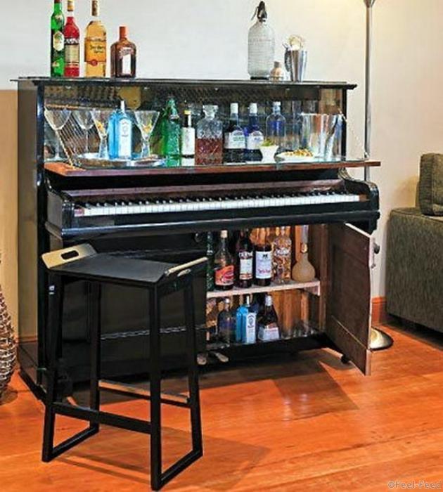 Как можно сделать пианино 984