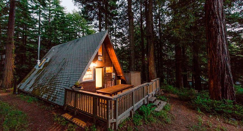 Маленький домик в лесу своими руками 73
