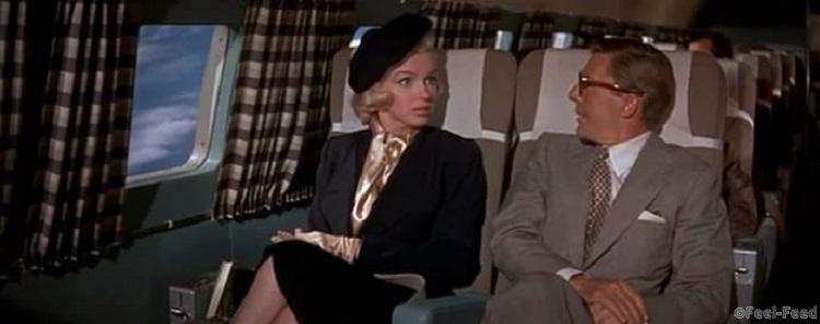 летят блондинка и адвокат в самолете пигментации