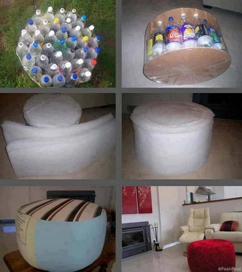 Своими руками поделки для дома из пластиковых бутылок