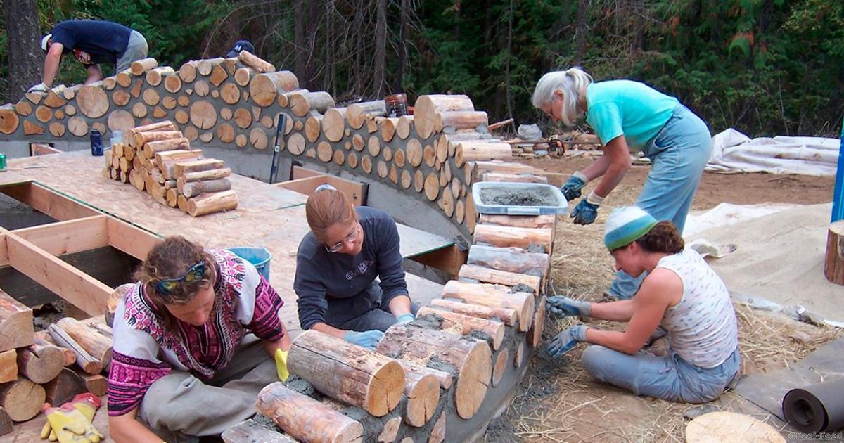 Построить домик из бревен своими руками 920