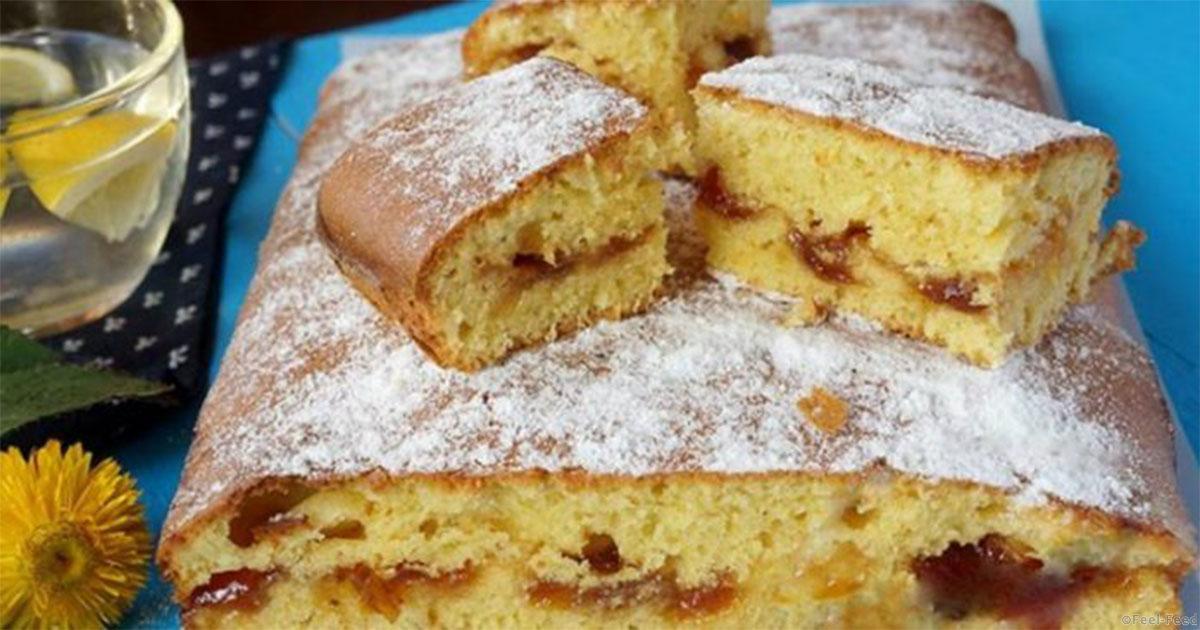Рецепт бисквитного пирога быстро и просто