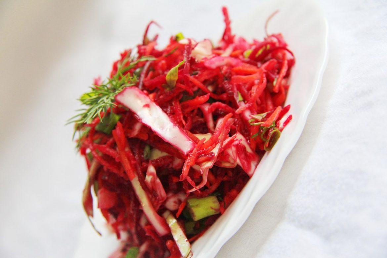 Салат из свеклы для похудения рецепт