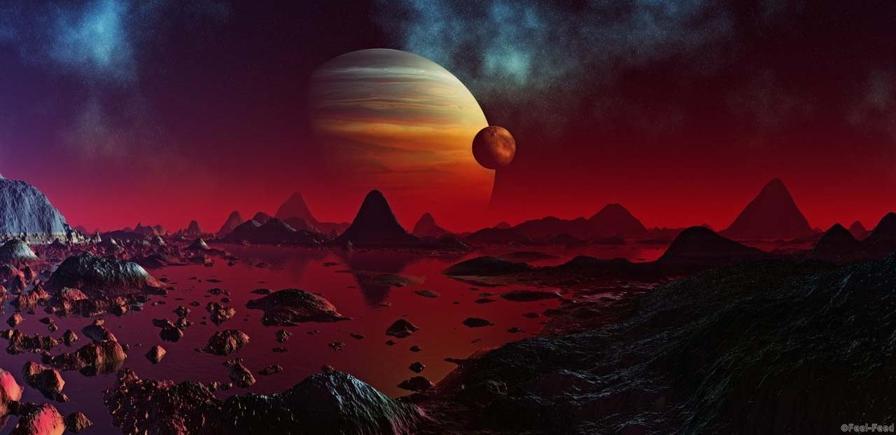 space-red-planet-jupiter-mars-planets-85425