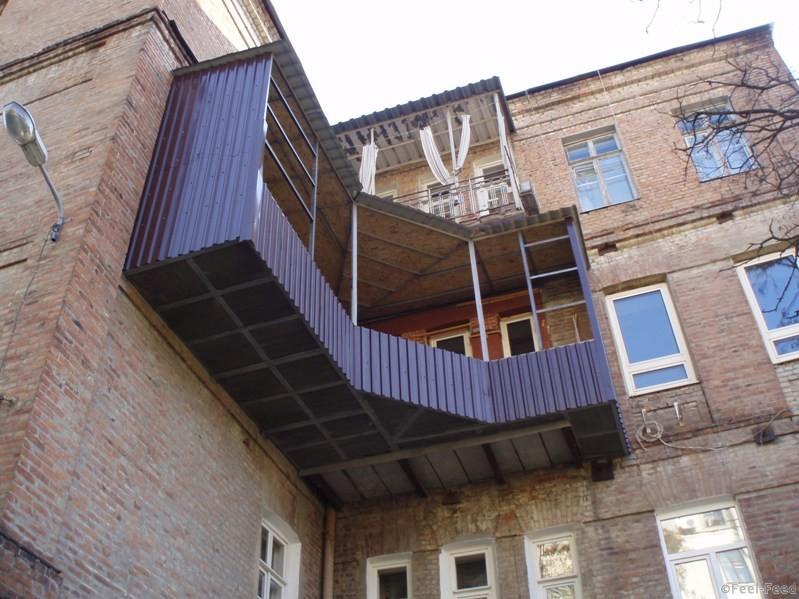 Отделка балкона снаружи обшивка своими руками фото.