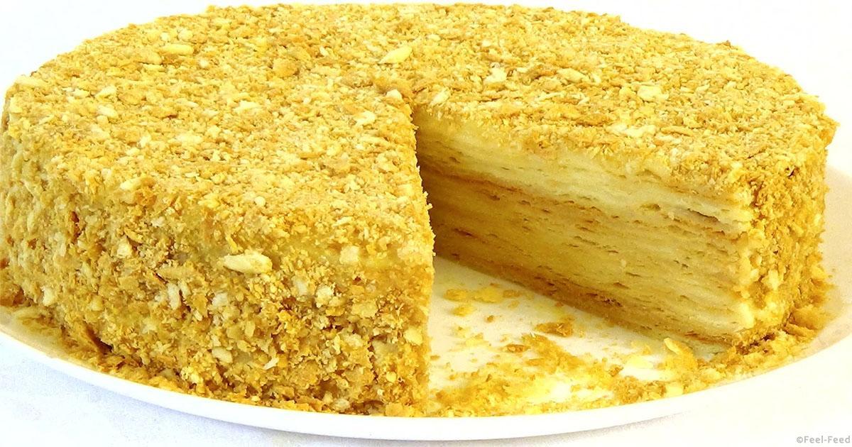 Быстрый торт на сметане рецепт пошагово 134