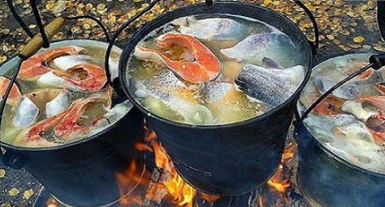рецепты ухи из красной рыбы с фото