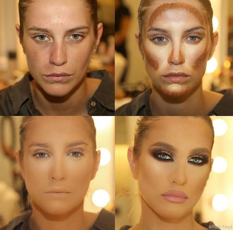 Как сделать свое лицо идеальным 980
