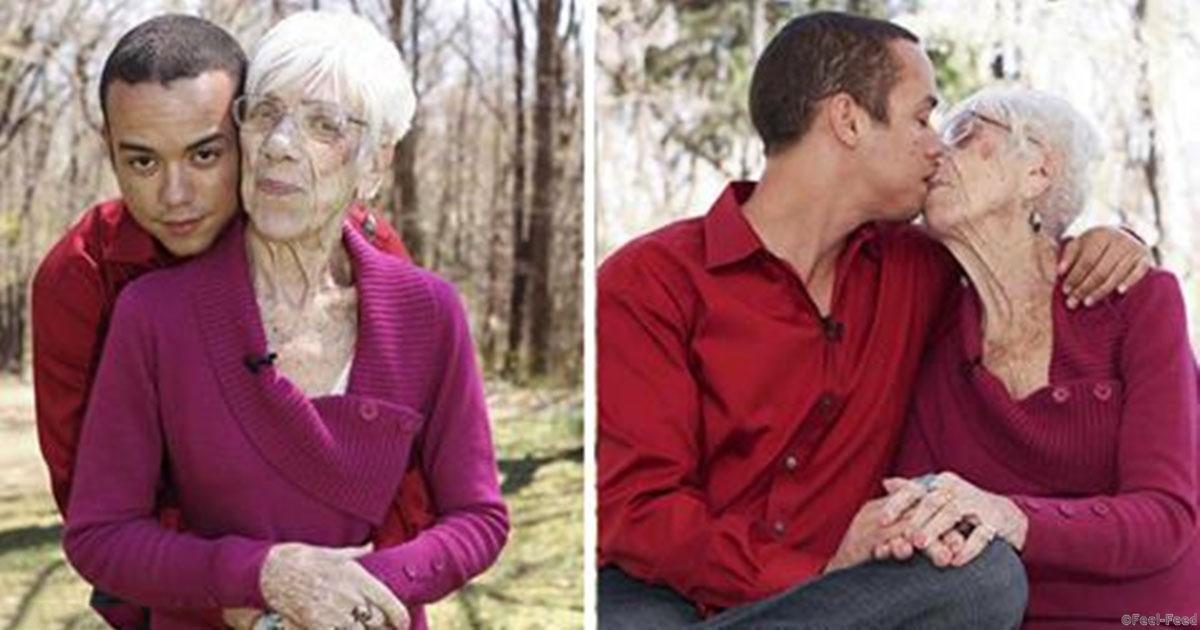 Молодой и старушка зачет