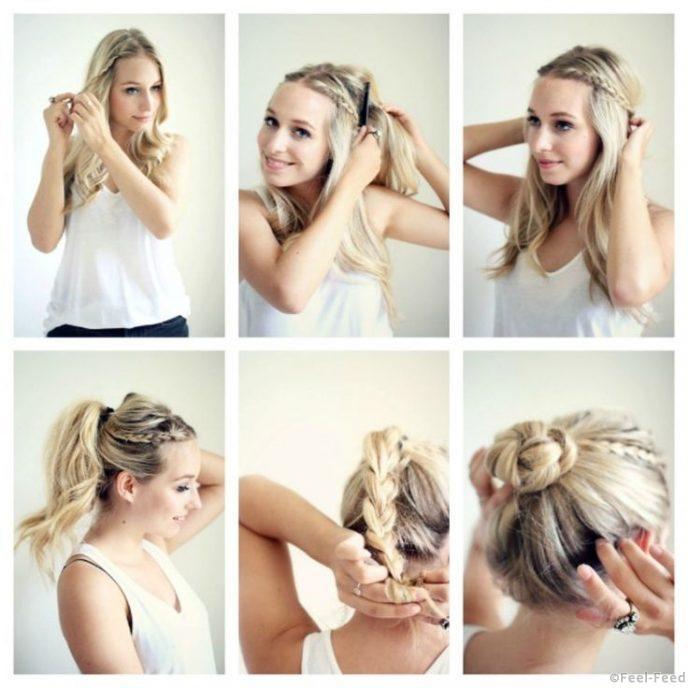 Что можно сделать с волосами своими руками 17